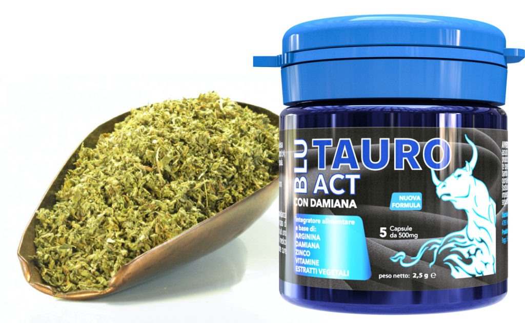 ingredienti blu tauro act